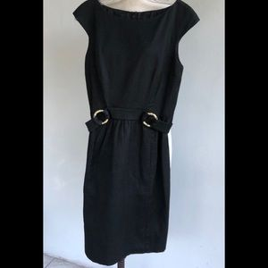 Tailored Dress by David Meister with Pockets
